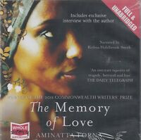 Aminatta Forna The Memory Of Love 19CD Audio Book NEW Unabridged FASTPOST