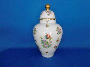 Herend Queen Victoria pattern Huge sized Urn Vase porcelain