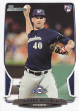 2013 Bowman Draft Baseball #23 Johnny Hellweg RC Milwaukee Brewers