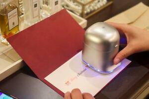 Mini Farb-Drucker Pekoko mobiles Hand-Gerät - Printer - farbige Drucke aller Art