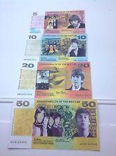 The Beatles Set De 4 Novedad Billetes Set-Regalo De Navidad idea