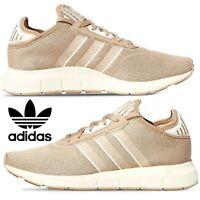 Adidas Originals Swift Run X Sneakers Women's Casual Shoes Running Nude White