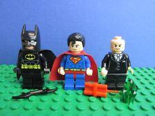 Genuine Lego Superman Vs Batman y Lex Luthor Dc Super Heroes Minifigura Set 230