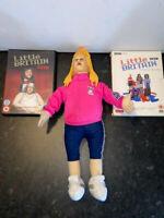 "Little Britain Bundle - Series 1 + LIve + 16"" Vicky Pollard Plush"