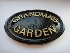 Garden Decorative Door Signs/Plaques