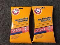 Royal Dirt Devil Type D Vacuum Bag Extra Featherlite (6 Pack) #3670148001