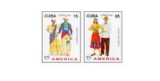 KUB9617 South American folk costumes 2 pcs