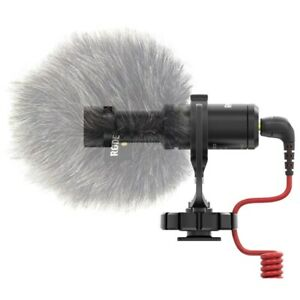 Rode Microphones VideoMicro Compact Microphone Cardioid Condenser On-Camera