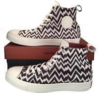 Converse X Missoni Chuck Taylor All Star High Top Stitched BROWN $150 154440C