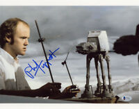 PHIL TIPPETT SIGNED AUTOGRAPHED 11x14 PHOTO ILM AT-AT STAR WARS RARE BECKETT BAS