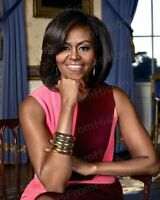 8x10 Print Michelle Obama First Lady Beautiful Color Portrait #MOWH