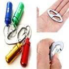Alloy Hook Bottle Buckle Aluminum Carabiner Keychain Clip Hiking