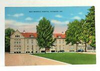 Richmond Indiana Reid Memorial Hospital Vintage Postcard