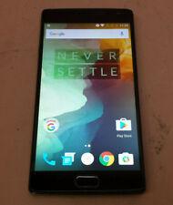 ONEPLUS 2 ANDROID SMART PHONE  64GB SANDSTONE BLACK DUAL SIM A2005 *UNLOCKED*