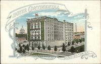 Washington DC Hotel Continentalc1920 Postcard