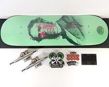 Z-Flex 8.5 Z No Evil Skateboard Complete Independent 149 Trucks Bones Wheels