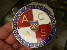 ADAC - ACAS AUTOMOBIL CLUB ALTKREIS SCHWELM - Plakette Badge Emblem