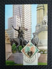 Spain MK 1966 Cervantes Don Quijote Chisciotte cavallo MAXIMUM CARD MC cm c3874