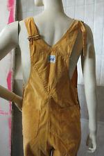 LEE Latzhose orange Damenhose Baumwolle 70er True VINTAGE 70s Dungarees trousers