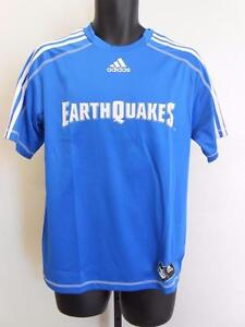 NEW MLS San Jose Earthquakes Adult Mens Sizes S-M-L-XL Adidas Jersey