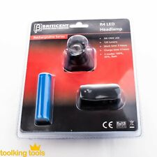 Head Light torch and worklight rechargeable camping cyclist with rear flasher