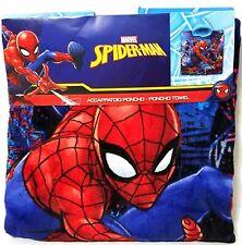 Marvel SPIDER-MAN (21 in x 43 in) Hooded Beach/Bath Poncho Towel - NWT