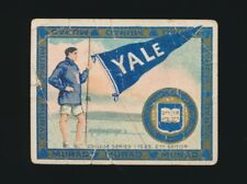 1910 T51 Murad COLLEGE SERIES (1-25-2nd Ed.) -Yale University (Pole Vaulter)