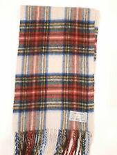Aquascutum Multi colour vintage checked cashmere winter Scarf Scarves