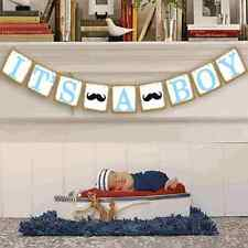 Its a boy Baby Shower Banner Garland, Gender Reveal Party Decorations, US Seller