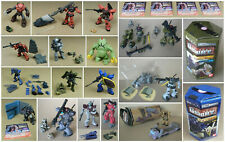 GUNDAM Bandai Japan 1/350 G SIGHT Big lot 19 Figure Sets MINT Zeon Zaku Char Dom