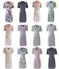 Short Sleeve Tea Dress. Vintage Tea Dress. Sizes 12 - 26.