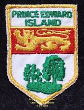 LMH PATCH Badge  PRINCE EDWARD ISLAND Canada  PEI Coat Arms Canadian Crest  used