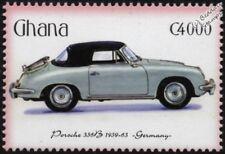 1959-1963 Porsche 356B Menta sello del automóvil coche deportivo (2001) Ghana
