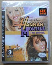 DISNEY HANNA MONTANA THE MOVIE PS3 PLAYSTATION 3 EDIZIONE ITALIANO NUOVO