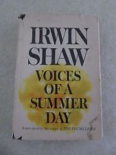 VOICES OF A SUMMER DAY by Irwin Shaw - Book Club Edition