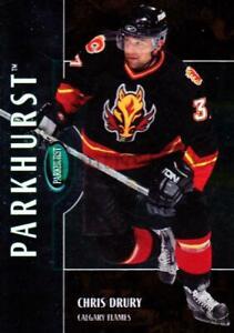 2002-03 Parkhurst Bronze #49 Chris Drury