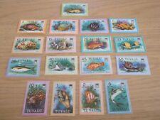 1979 Tuvalu Fishes 18 of 19 1c missing u/m Mi.84/100,C14