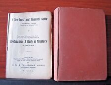 Restoration: A Study in Prophecy by Elbert Smith +Teacher/Student Guide -1946 HC