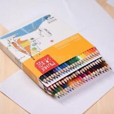 72 Color Premium Pre-Sharpened Oil Based Colored Pencils Set for Kids I6J9