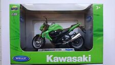 WELLY '07 KAWASAKI Z 1000 1:18 DIE CAST MODEL NEW IN BOX LICENSED MOTORCYCLE