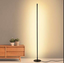 Contemporary Nordic style LED Floor Lamp-Warm White-Round Base