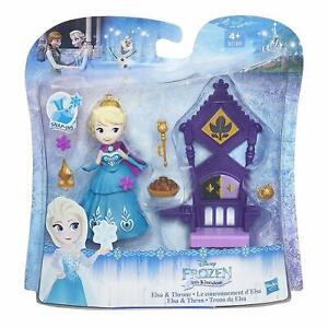 BNIB Disney Frozen Little Kingdom Elsa with Throne Figure Playset