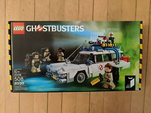 Brand New Sealed LEGO # 21108 Ghostbusters Ecto-1