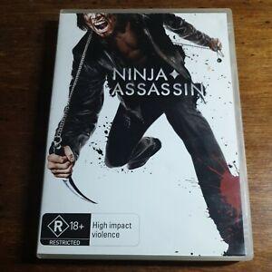 Ninja Assassin DVD R4 LIKE NEW FREE POST