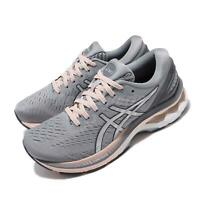 Asics Gel-Kayano 27 Wide Grey Silver Pink Women Running Shoes 1012A713-020