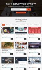 Multi-vendors Digital Marketplace Website