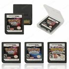 3Pcs Pokemon Platinum + Pearl + Diamond Game Card For Nintendo NDS 3DS DSI