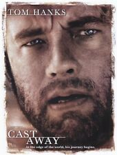 35mm Feature Film Print - CAST AWAY - 2000 TOM HANKS Classic Movie on 8 Reels!