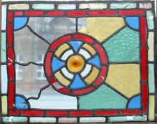 ORIGINAL ENGLISH VICTORIAN STAINED GLASS WINDOW
