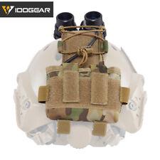 IDOGEAR Tactical MK2 Battery Case for Helmet Tool Pouch 500D nylon Multicam Camo